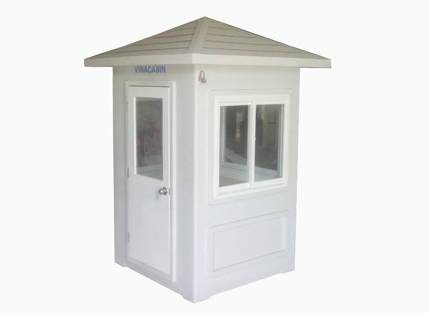Cabin chòi bảo vệ 1,35m x 1,35 m