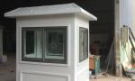 Nhà bảo vệ VINACABIN kích thước thân 1,35 x 1,7m lắp cửa nhôm Xingfa