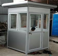Bốt gác giá rẻ khung thép ốp aluminium